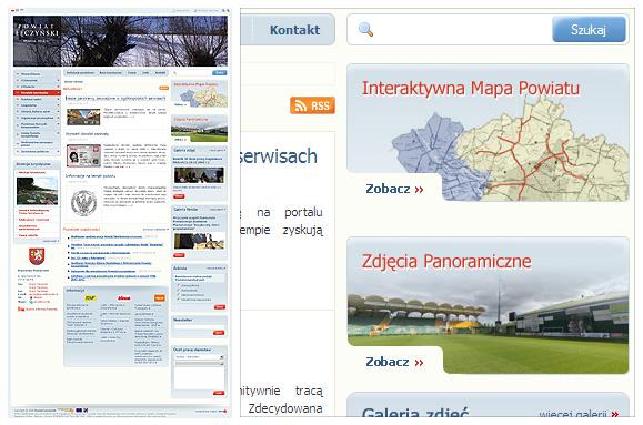 Powiat Łęczyński - strona www