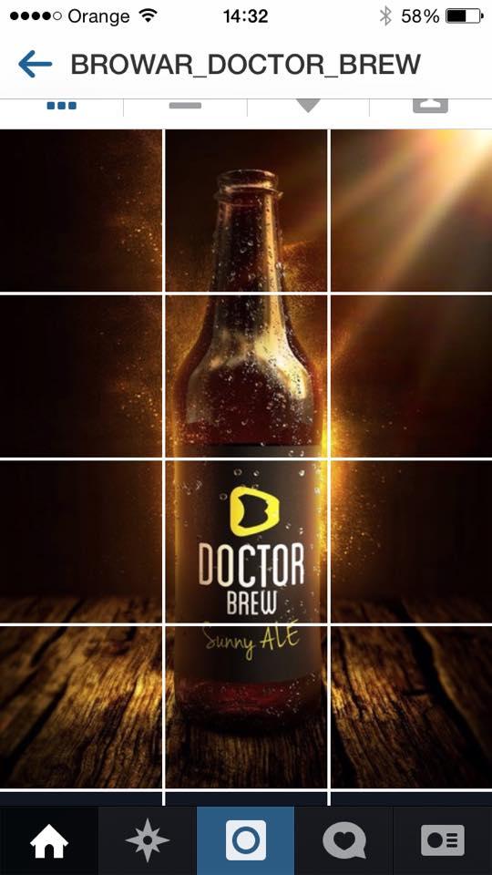 Doctor Brew screen telefon