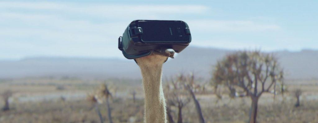 Reklama Samsung - Ostrich